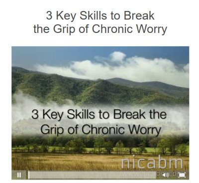 Break The Grip of Chronic Worry